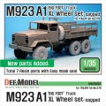 DEF.MODEL[DW35033]M923A1 ビッグフット XL 自重変形タイヤ(イタレリ用)