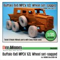 DEF.MODEL[DW35035]バッファロー MPCV 自重変形タイヤ(ブロンコ用)