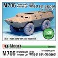 DEF.MODEL[DW35037]M706(V100) コマンドー 自重変形タイヤ(ホビーボス用)