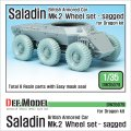 DEF.MODEL[DW35079]イギリス サラディン MK.II 自重変形タイヤ(ドラゴン用)