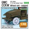 DEF.MODEL[DW48006]1/48 アメリカ GMC CCKW タイヤセット(タミヤ用1/48)