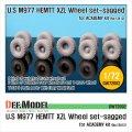 DEF.MODEL[DW72002]1/72 M977 HEMETT XZL 自重変形タイヤ(アカデミー用1/72)