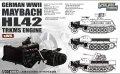ライオンロア[L3522] 1/35 WWII 独 マイバッハ HL42 TRKMSエンジン(sWS用)