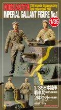 モデルカステン [F-2] 1/35 日本陸軍戦車兵2体セット