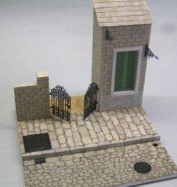 画像1: 紙創り[A-30]鉄蓋、門扉など