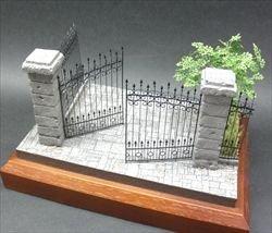 画像1: 紙創り[A-32]スチールゲート