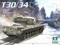 タコム[TKO2065]1/35 アメリカ試作重戦車 T30/34 2 in 1