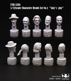 画像2: SWASH DESIGN[FTH-3201]Character Heads vol.1