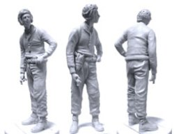 画像2: SWASH DESIGN[ST-3514]WW2 US TANK CREW