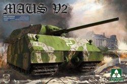 画像1: タコム[TKO2050]1/35 マウス V2 WWII ドイツ超重戦車