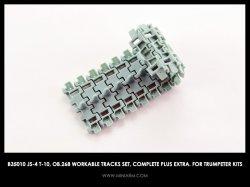 画像1: Miniarm[B35010t ] 1/35 JS-4/T-10/オブイェークト268 連結可動履帯セット(トラペ用)