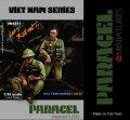 Paracel Miniatures[VN1517]1/35 北ベトナム軍 戦車跨乗兵セット3(2体セット)