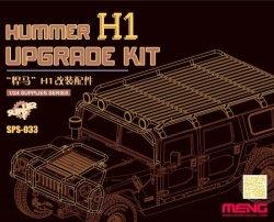 画像1: モンモデル[MENSPS-033]1/24 ハマーH1改造用オプションパーツ