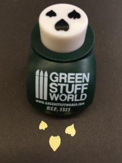 画像3: グリーンスタッフワールド[GSW-15] リーフパンチ(ダークグリーン)
