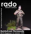 Rado Miniatures[RDM35001] 1/35 WWII独 武装親衛隊第12装甲擲弾兵連隊 下士官 1944夏