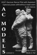 AC MODELS[ACM32013]1/32 WW1 German Recce pilot w assistant