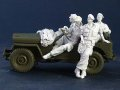 AC MODELS[ACM35022] 1/35 Mercenaries in Africa Set.1 For Willys Jeep kit (4体セット)