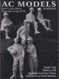 AC MODELS[ACM35042] 1/35 WWII米 シャーマン戦車クルー 欧州戦線(6体セット)