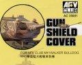 AFV  Club[AC35001]1/35 M41軽戦車用防盾カバー(軟質素材製)