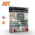 AKインタラクティブ[AK249]書籍モデリングフルアヘッド3 ビスマルク&ティルピッツ