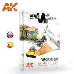 画像1: AKインタラクティブ[AK4901]書籍ウォーンアート・コレクション1 ウッド表現
