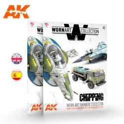 画像2: AKインタラクティブ[AK4903]書籍ウォーンアート・コレクション2 チッピング