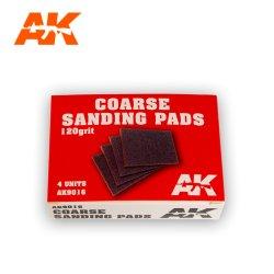 画像1: AKインタラクティブ[AK9016]サンディングパッド・荒目120番・4枚入り