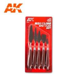画像3: AKインタラクティブ[AK09051]モデリングスパチュラセット