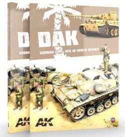 画像1: AKインタラクティブ[AK912]書籍 DAK 北アフリカのドイツ軍装甲戦闘車輌