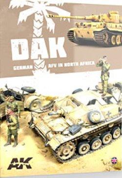 画像2: AKインタラクティブ[AK912]書籍 DAK 北アフリカのドイツ軍装甲戦闘車輌