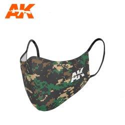 画像1: AKインタラクティブ[AK09158]フェイスマスク・クラシックカモ03