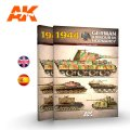 AKインタラクティブ[AK916]書籍1944ドイツ戦車迷彩塗装ガイド・ノルマンディ戦線