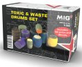 MIG[MP35-414]1/35 化学薬品ドラムセット