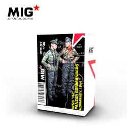 画像1: MIG[MP35-422]HJ師団戦車指揮官セット ノルマンディ1944