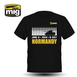 画像1: AMMO[AMO-8030XL]ノルマンディー シャーマン Tシャツ(XL)