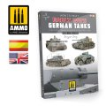 AMMO書籍[AMIG6037]第二次世界大戦初期のドイツ戦車 の塗装法
