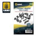 AMMO[AMIG8095]1/35 I号戦車 A型用工具クランプ