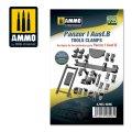 AMMO[AMIG8096]1/35 I号戦車 B型用工具クランプ