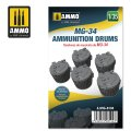 AMMO[AMIG8104]1/35 MG-34用ドラムマガジン