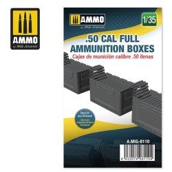 画像1: AMMO[AMIG8110]1/35 .50cal 弾薬箱 (弾薬入り)
