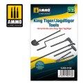 AMMO[AMIG8138]1/35 キングタイガー/ヤークトタイガー 用車載工具セット