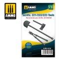 AMMO[AMIG8139]1/35 Sd.Kfz.221/222/223用車載工具 セット
