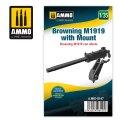 AMMO[AMIG8147]1/35 ブローニング M1919機関銃 w/マウント