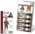 AMMO[AMIG7033]WW.II イギリス軍 野戦服用カラーセット