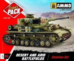 画像3: AMMO[AMIG7802]砂漠&乾燥地帯塗料セット