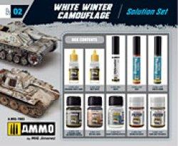 画像2: AMMO[AMIG7803]冬季迷彩ウェザリングセット
