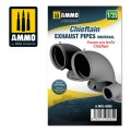 AMMO[AMIG8085]1/35 チーフテン用排気管