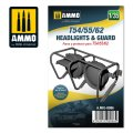 AMMO[AMIG8086]1/35 T-54/55/62用ヘッドライト & ガード