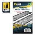 AMMO[AMIG8088]1/35 III号戦車用エンジングリル