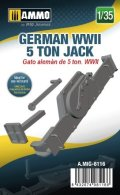 AMMO[AMIG8116]1/35 WW.II ドイツ軍車両用5トンジャッキ